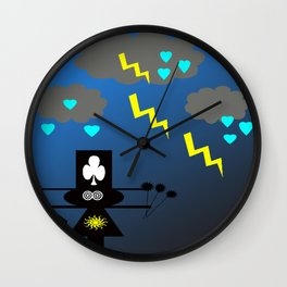 bbnyc scary night Wall Clock