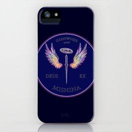 Deus Ex Mishina iPhone Case