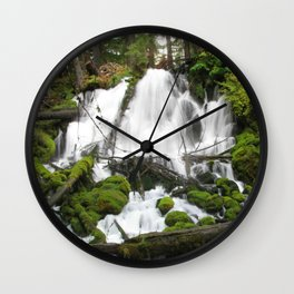 Clear Creek Falls Wall Clock