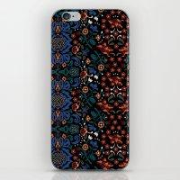 folk iPhone & iPod Skins featuring Folk by Pommy New York