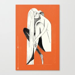 PIN-UP #1 Canvas Print