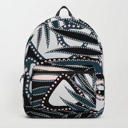 Glitter Glam Palm Leaf Backpack