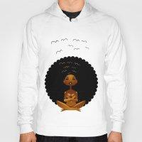 spiritual Hoodies featuring Spiritual AfroGirl by Pweety Sexxay