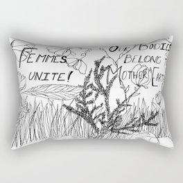Earth Femmes Rectangular Pillow