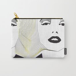 Portraits. Two Marilyns. Carry-All Pouch