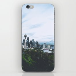 Seattle afternoon views iPhone Skin