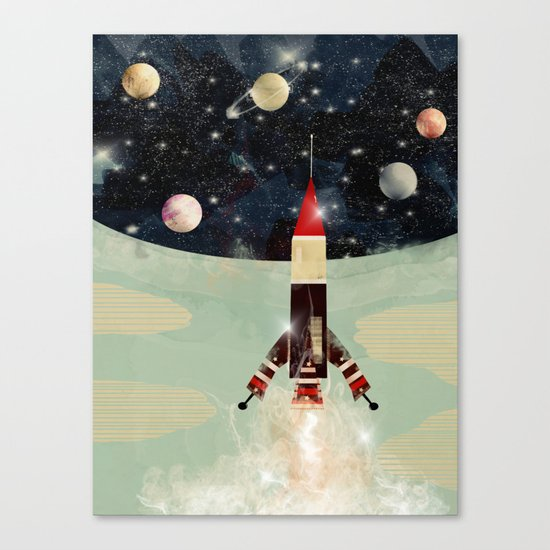 explorer 1 Canvas Print