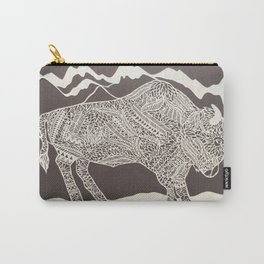 Japanese Buffalo Carry-All Pouch