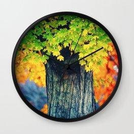 Bridging Seasons Wall Clock