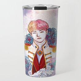 BTS V, King Taehyung, Kings of KPOP, Love Yourself, Boy With Luv Travel Mug