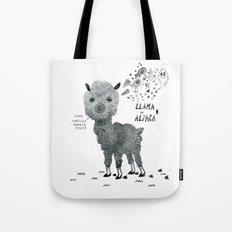 llama or alpaca Tote Bag