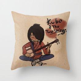 Kubo Calligraphy Throw Pillow