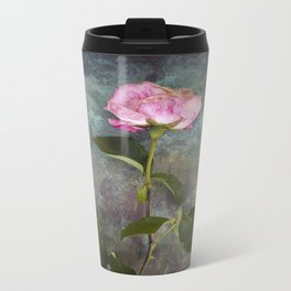 Single Wilted Rose Travel Mug