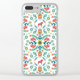 Swedish Folklore Clear iPhone Case