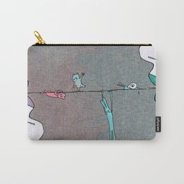 Thin line Carry-All Pouch