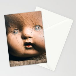Creepy Doll Stationery Cards