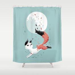 Shedding Shower Curtain