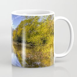 The Silent Pond Coffee Mug