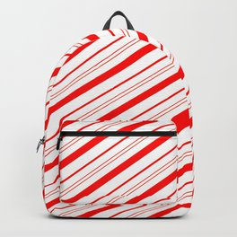 Candy Cane Stripes Backpack
