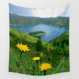 Fogo crater Wall Tapestry