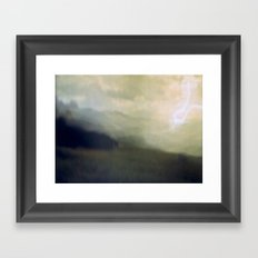 light storm Framed Art Print