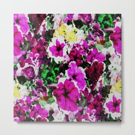 Embroidered Love... Metal Print