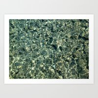 Patterns of the Sea 4 Art Print