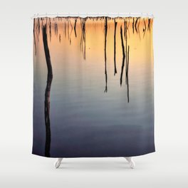 Flooded Forest Shower Curtain