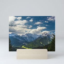 Stunning Julian alps Mini Art Print