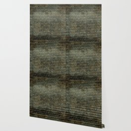 The Binary Code - Distressed textured version Wallpaper
