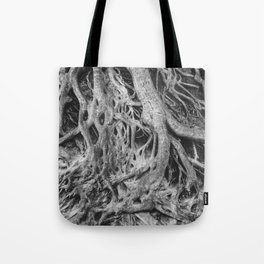 Roots of the Medusa Tree in Greenville, SC Tote Bag