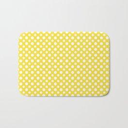 Buttercup yellow spots Bath Mat