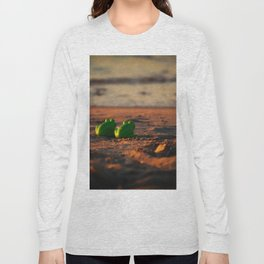 frog admiring the sunset Long Sleeve T-shirt
