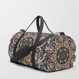 Mushroom Mandala Duffle Bag
