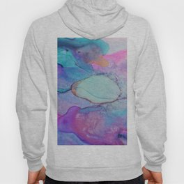 shimmery abstract Hoody