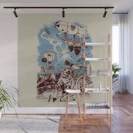 Distant Thunder Wall Mural