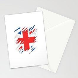 Torn Flag UK Stationery Cards