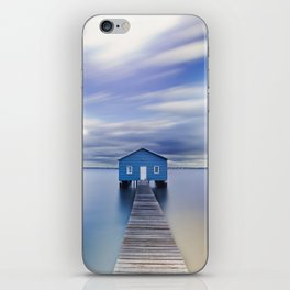 Blue Boat House iPhone Skin