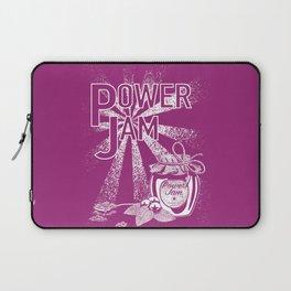 Power Jam graphic Laptop Sleeve