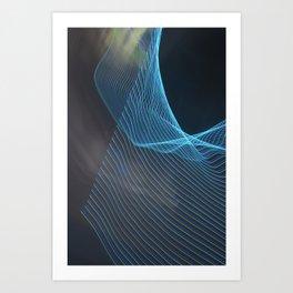 Chunking Down To The Subatomic Art Print