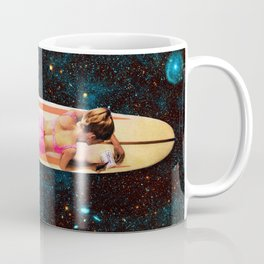 Pleiadian Surfer Coffee Mug