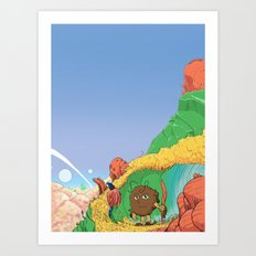 Alien Cover Art Print