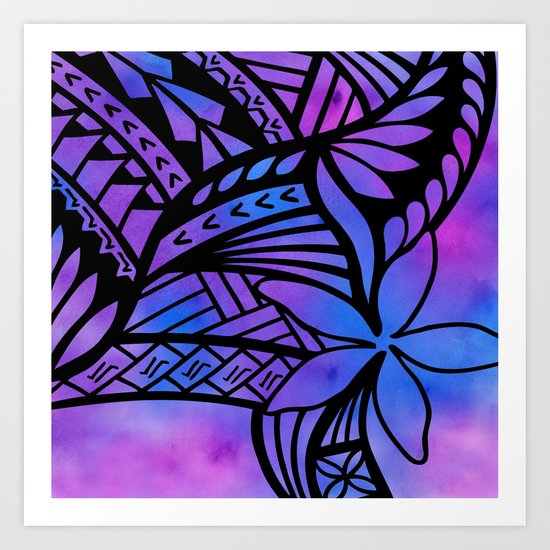 Polynesian Alofa Art Print by Lonica Photography & Poly ...