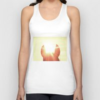 focus Tank Tops featuring Focus by Jake Stanton