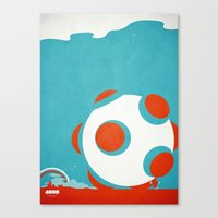 katamari Canvas Prints featuring AXOR Heroes - Katamari by Studio Axel Pfaender
