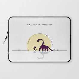 i believe in dinosaurs Laptop Sleeve