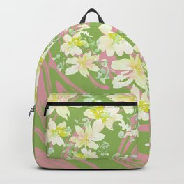 Grace Floral Swirl Backpack