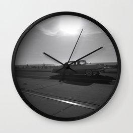 Vintage Set of Wheels Wall Clock