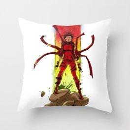 Phoenix Phorce Throw Pillow
