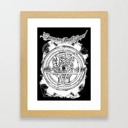 SDS | Esoteric hand Framed Art Print